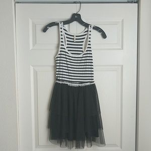Black and White Carrie Bradshaw Dress